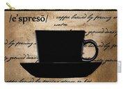 Espresso Madness Carry-all Pouch