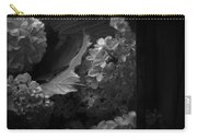 Essence Of My Soul In Black And White Carry-all Pouch