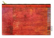 Essence Of Red Carry-all Pouch by Michelle Calkins