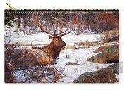 Estes Park Elk Carry-all Pouch