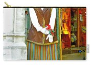 Estonian Greeter In Old Town Tallinn-estonia Carry-all Pouch