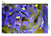 Etchings Of Purple And Green Carry-all Pouch