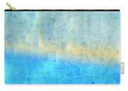 Eternal Blue - Blue Abstract Art By Sharon Cummings Carry-all Pouch by Sharon Cummings