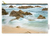 Eternal Waves At Asilomar Beach In Monterey Bay. Carry-all Pouch