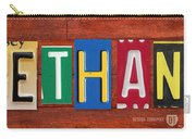 Ethan License Plate Name Sign Fun Kid Room Decor. Carry-all Pouch