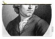 Etienne Bonnot De Condillac(1715-1780) Carry-all Pouch