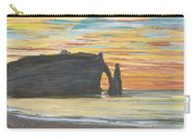 Etretat. Cliff Of Aval Carry-all Pouch