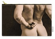 Eugen Sandow Carry-all Pouch by Napoleon Sarony