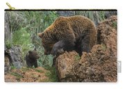 Eurasian Brown Bear 13 Carry-all Pouch