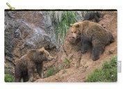 Eurasian Brown Bear 17 Carry-all Pouch