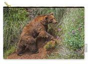 Eurasian Brown Bear 21 Carry-all Pouch