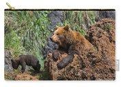 Eurasian Brown Bear 8 Carry-all Pouch