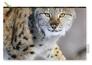 Eurasian Lynx Walking Carry-all Pouch