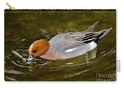 Eurasian Wigeon Feeding Carry-all Pouch