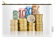 Euro Currency Carry-all Pouch