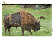 European Bison 4 Carry-all Pouch