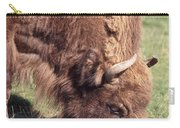 European Bison  Bison Bonasus Carry-all Pouch