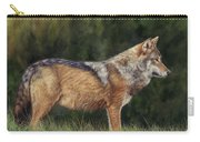 European Grey Wolf Carry-all Pouch