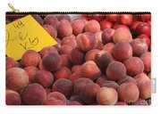 European Markets - Peaches And Nectarines Carry-all Pouch