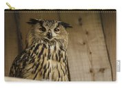 European Owl Carry-all Pouch