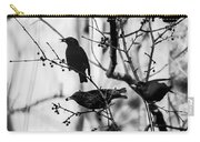 European Starlings Carry-all Pouch