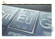 Europium Chemical Element Carry-all Pouch