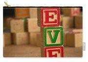 Eve - Alphabet Blocks Carry-all Pouch