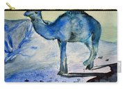 Even Camels Get The Blues Carry-all Pouch