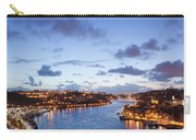 Evening At Douro River In Portugal Carry-all Pouch
