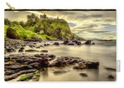 Evening At Dunluce Castle Carry-all Pouch