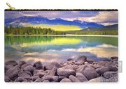 Evening At Lake Annette Carry-all Pouch