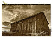 Evening Barn Sepia Carry-all Pouch