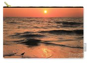 Evening Beach Stroll Carry-all Pouch by Adam Jewell