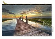 Evening Dock Carry-all Pouch by Debra and Dave Vanderlaan