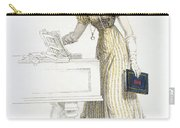 Evening Dress, Fashion Plate Carry-all Pouch