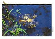 Evening Encloses The Aging Lily Pad Carry-all Pouch