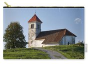 Evening Glow Over Church Carry-all Pouch
