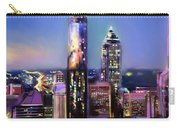 Evening In Atlanta Edge Side Carry-all Pouch