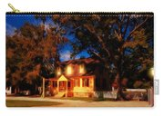 Evening In Small Town U. S. A. Carry-all Pouch