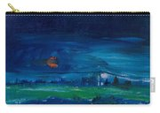 Evening Landscape Oil On Canvas Carry-all Pouch