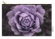Evening Lavender Rose Flower Carry-all Pouch