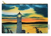 Evening Light - Lighthouse Carry-all Pouch