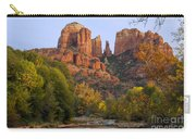 Evening Light On Cathedral Rock Carry-all Pouch