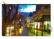 Evening Light On Lord Street Carry-all Pouch