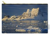 Evening Light On Peaks Paradise Bay Carry-all Pouch