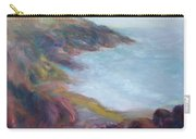 Evening Light On The Oregon Coast - Original Impressionist Oil Painting - Plein Air Carry-all Pouch