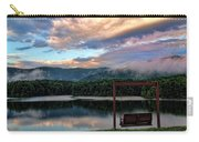 Evening Mist In August Over Lake Tamarack Carry-all Pouch