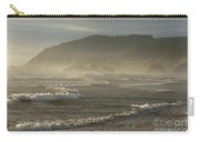 Evening Mist Over Ecola State Park Carry-all Pouch