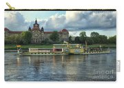 Evening Mood On The Elbe Carry-all Pouch
