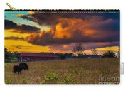 Evening On The Farm Five Carry-all Pouch